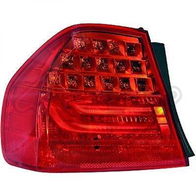 Diederichs Heckleuchte außen, LED, ohne Lampenträg Bmw: 3 1216191
